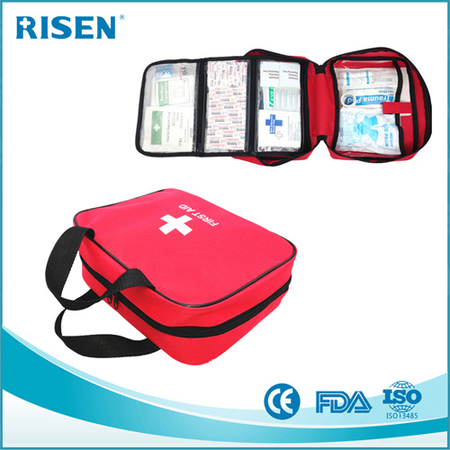 [Hot Item] FDA Approve Customize Logo 100PCS Adventure First Aid Kit