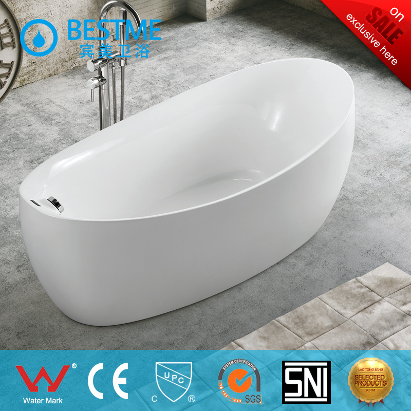 China Cheap Price New Design Hot Salt Freestanding Acrylic Bathtub ...