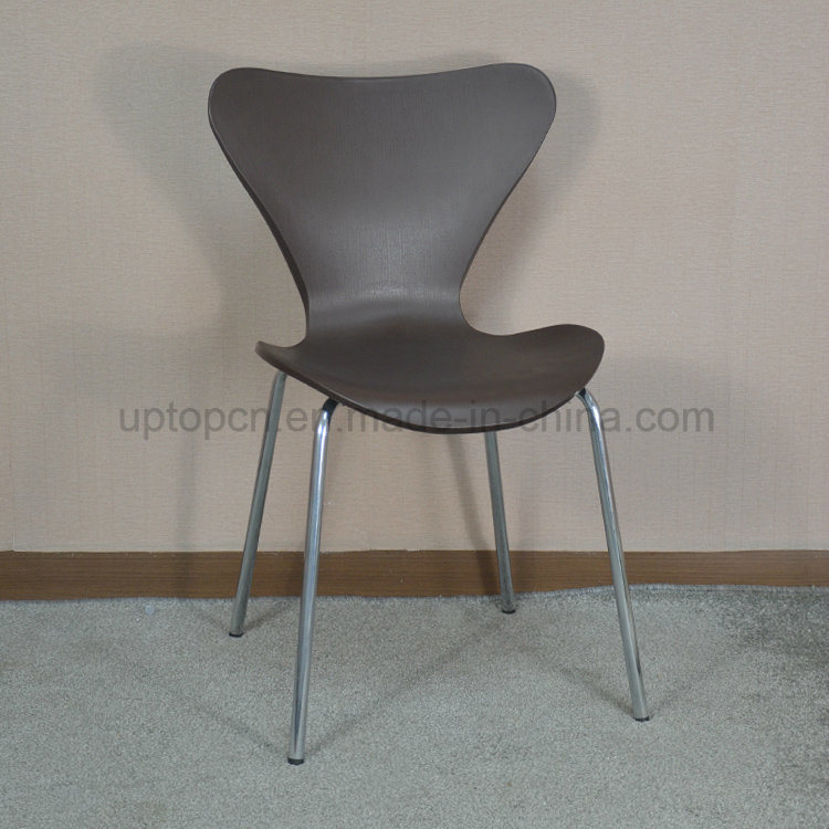 (SP-UC075) Stacking Food Court Plastic Arne Jacobsen Series 7 Chair