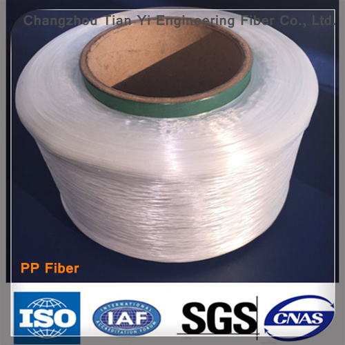 Polypropylene Fiber Filament Raw Material Good Toughness and Impact pictures & photos