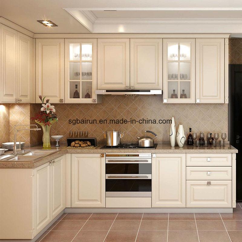 China Kitchen Furniture Shaker Style Melamine Board Carcass Pvc