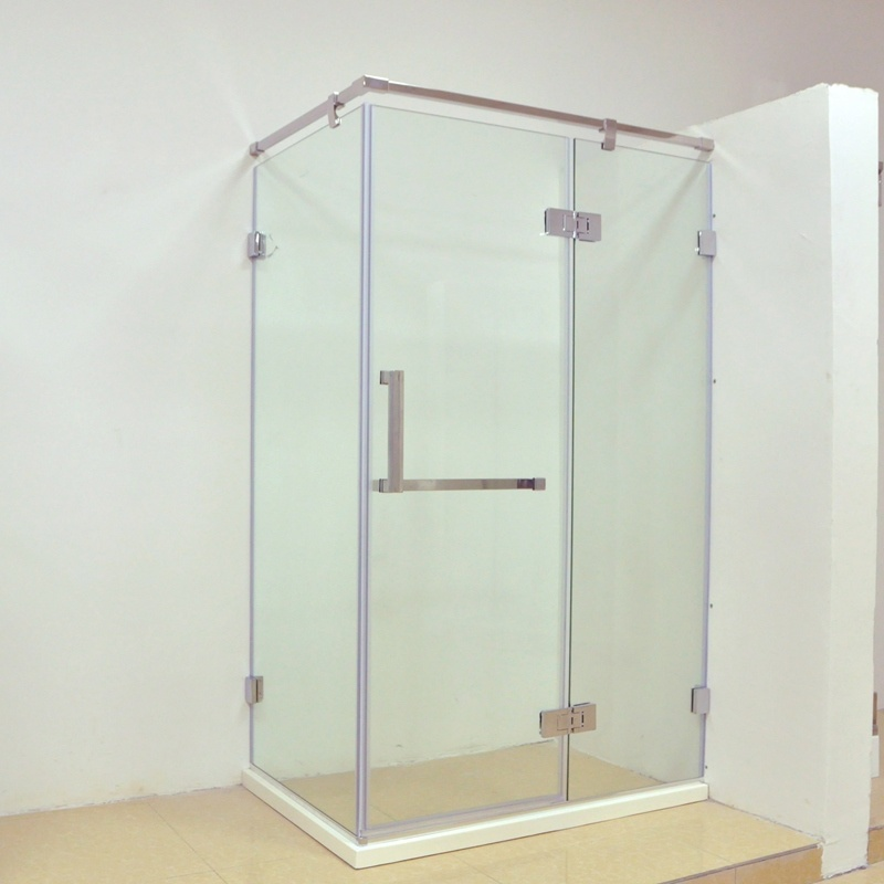 China Hinged Door with Hinged Inline Panel Shower Cabin for Corner ...