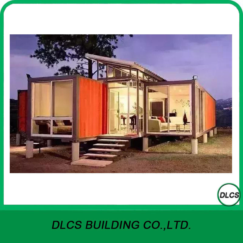 40 Feet Container Homes: China 40 FT Shipping Container Homes/ Prefab House