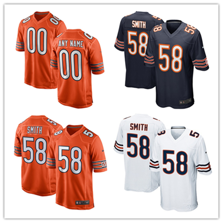 new concept 77a3b 44f94 [Hot Item] Men Women Youth Bears Jerseys 58 Roquan Smith Football Jerseys