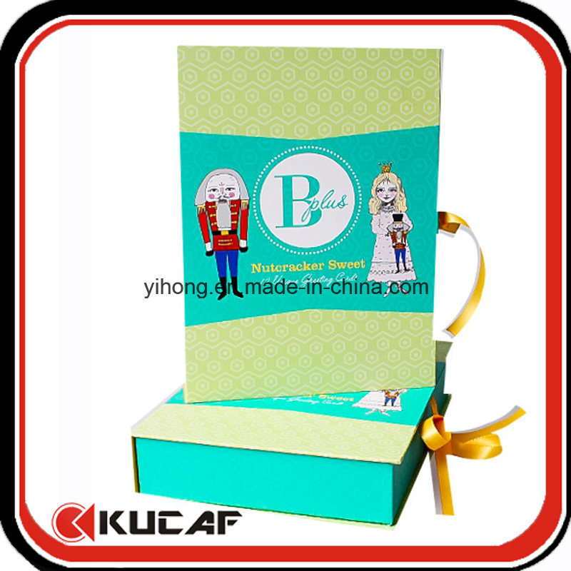 Custom Printing Different Kinds Greeting Cards with Box Packing pictures & photos
