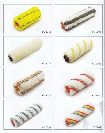 China New Design Color Pattern Decorative Paint Roller Brush China
