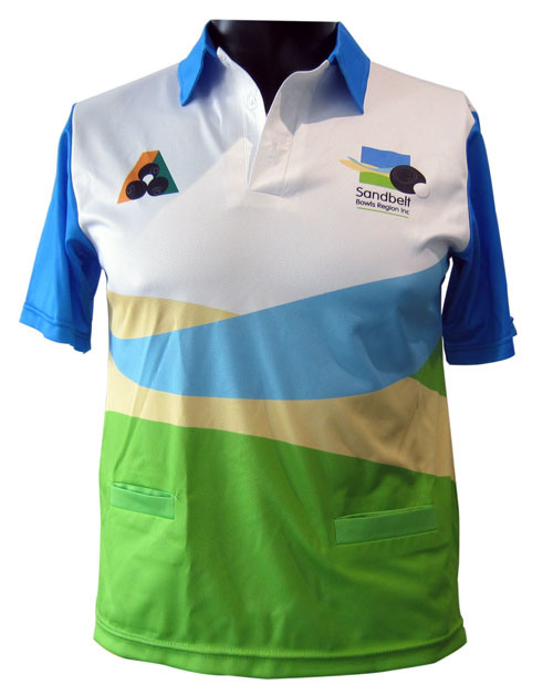 Hot Item Custom Design Sublimation Bowling Polo Sports Tee Shirts With Pockets