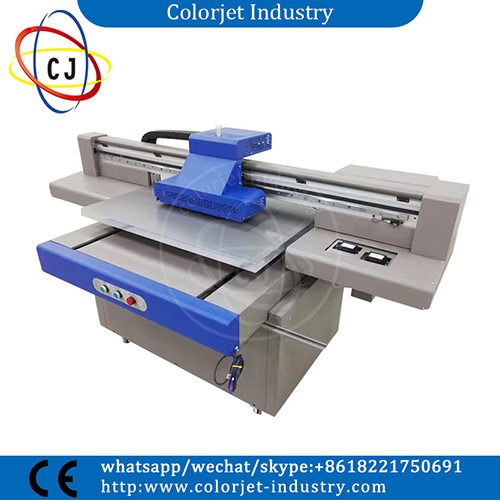 Cj-R9060UV Cheap Price A1 Size White Ink Flatbed UV Printer pictures & photos