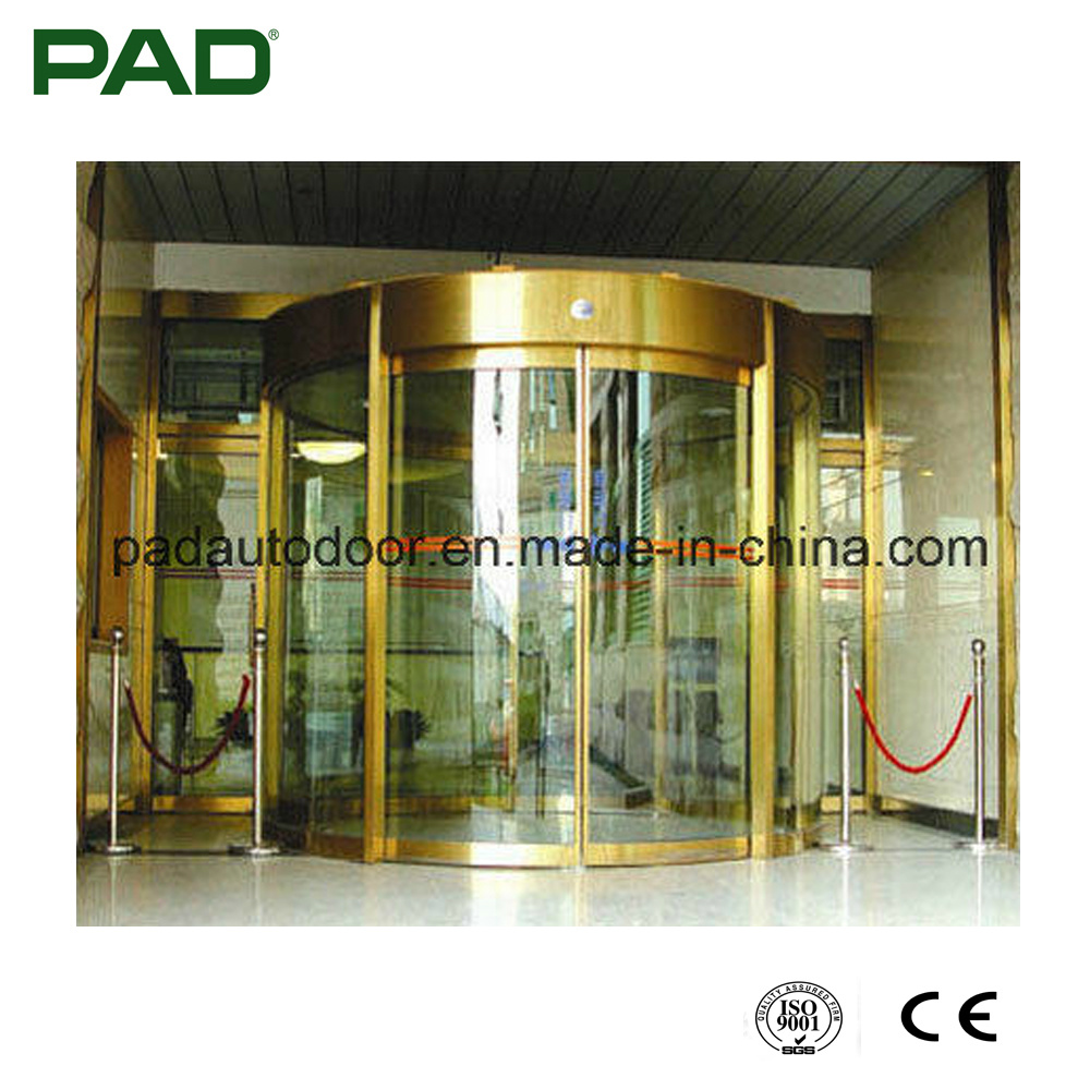 China Self Closing Curved Sliding Glass Door For Commercial Building