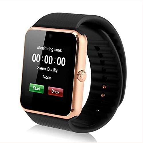 049229b4553 Gt08 Bluetooth Touch Screen Smart Wrist Watch Phone with Camera Support up  to 32GB Memory Card RAM 128m ROM 64m