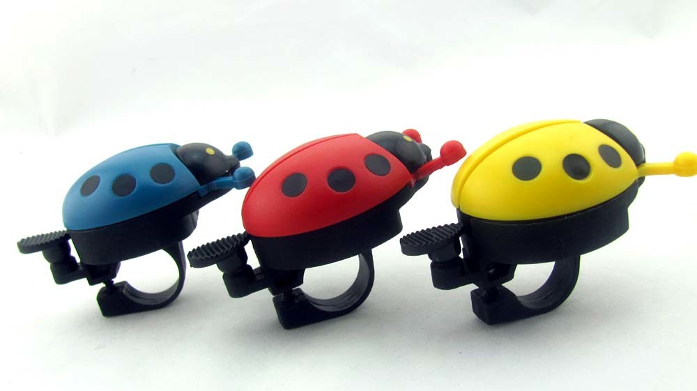 Ladybird Shape Promotion Aluminium Bicycle Bell