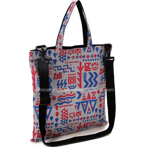 Wholesale Latest Floral Print Tote Bag, Shoulder Bags 2016
