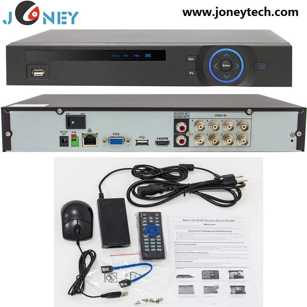 China 1080p Full Realtime 8ch Hd Cvi H 264 Standalone Dvr