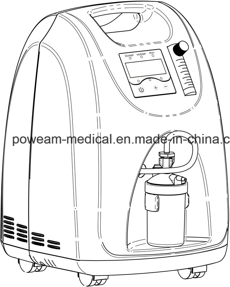 China Medical Supply Hospital Oxygen O2 Concentrator L5 Photos