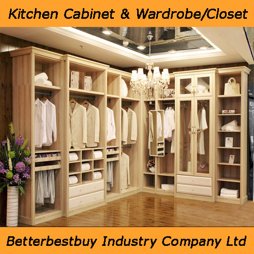china l shaped walk in wardrobe with drawers china. Black Bedroom Furniture Sets. Home Design Ideas