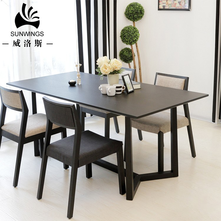 China Modern Dining Room Furniture, Modern Dining Room Table And Chairs Set