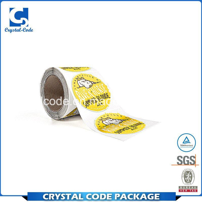 China profit small and moderate price custom stickers label china label sticker