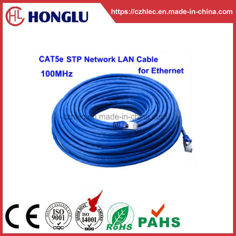 RoHS 1000Mbps Cat5e STP Network LAN Cable for Ethernet pictures & photos