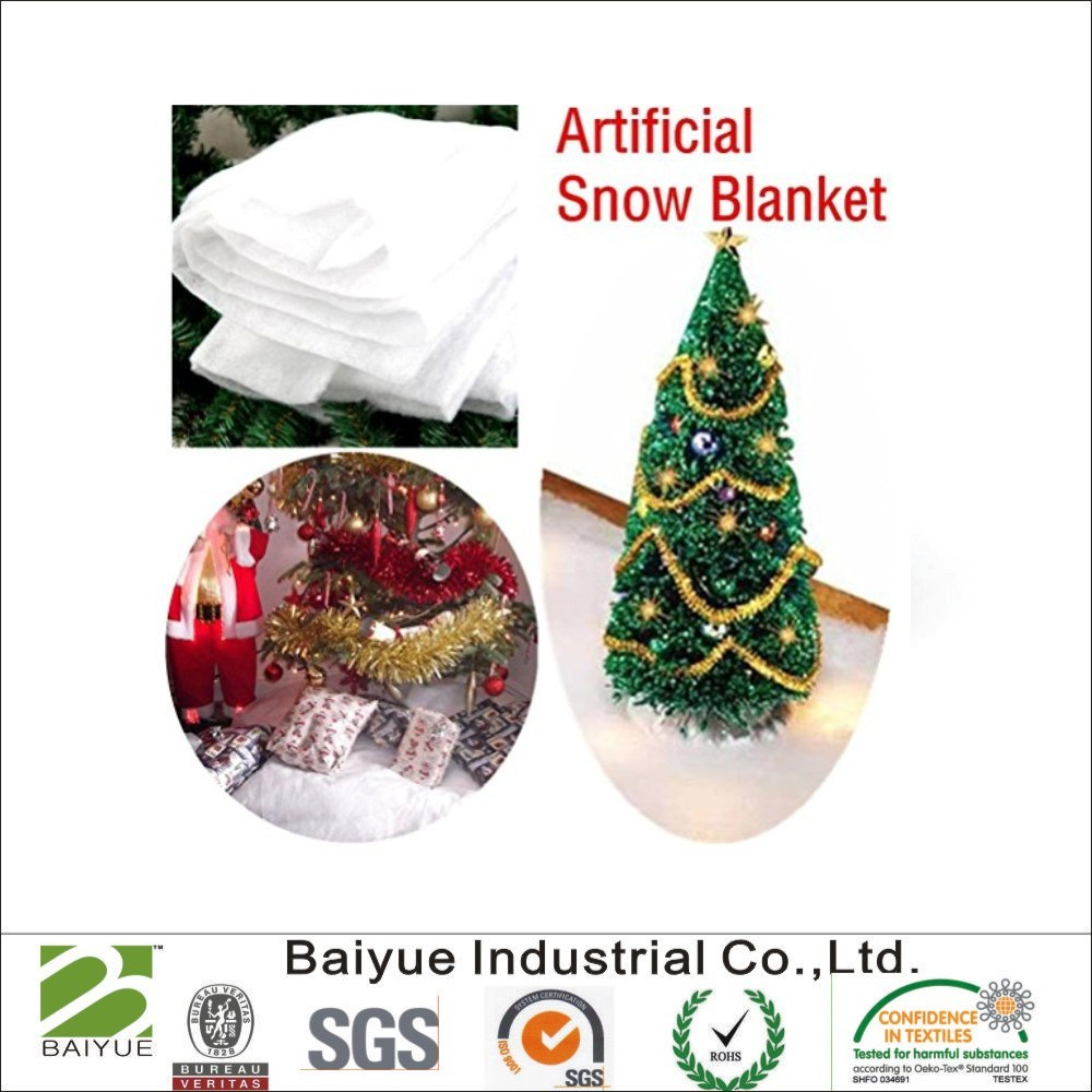 China Fake Snow Blanket Decorations for Christmas Village Scene Display - China Fake Snow Blanket, Artificial Snow Blanket