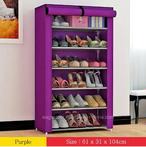 Shoe Cabinet Shoes Racks Storage Large Capacity Home Furniture DIY Simple  Portable Shoe Rack (FS 08D) 2018