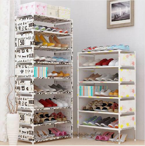 Shoe Cabinet Shoes Racks Storage Large Capacity Home Furniture DIY Simple  Portable Shoe Rack (FS 10D) 2018