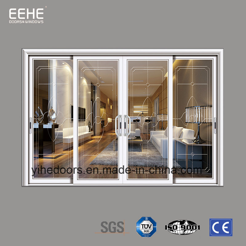 China Hotel Electric Glass Door Sliding Aluminum Entry Doors China