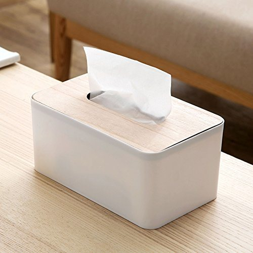 China Tissue Box Cover Facial Paper Holder Kleenex Organizer