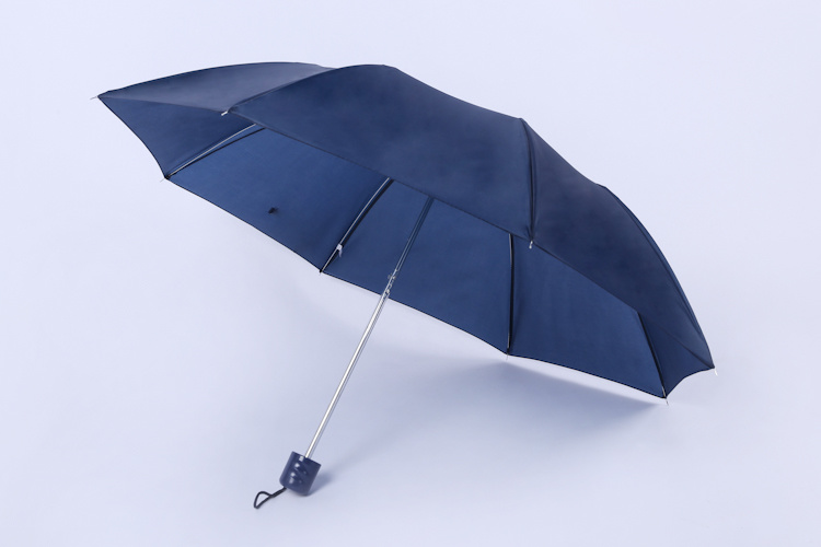 Top Ing Lifetime Guarantee Gentleman Rain Umbrella Fabric Side Handle