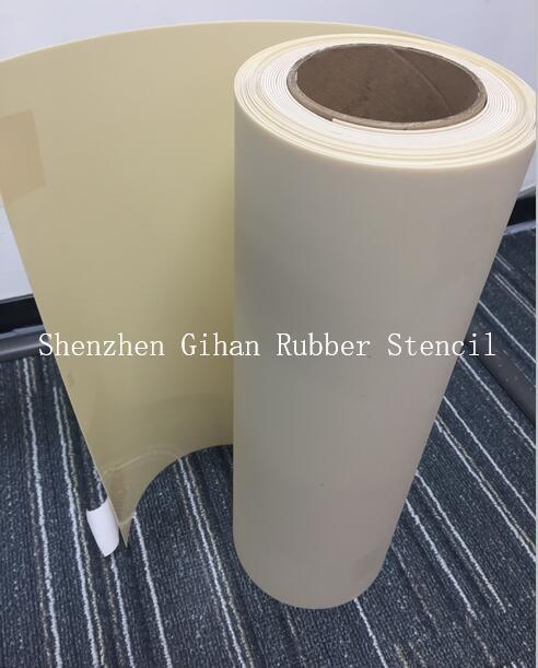 [Hot Item] Gihan Rubber Sheet Hand-Cut Rubber Sandblast Stencil for Masking
