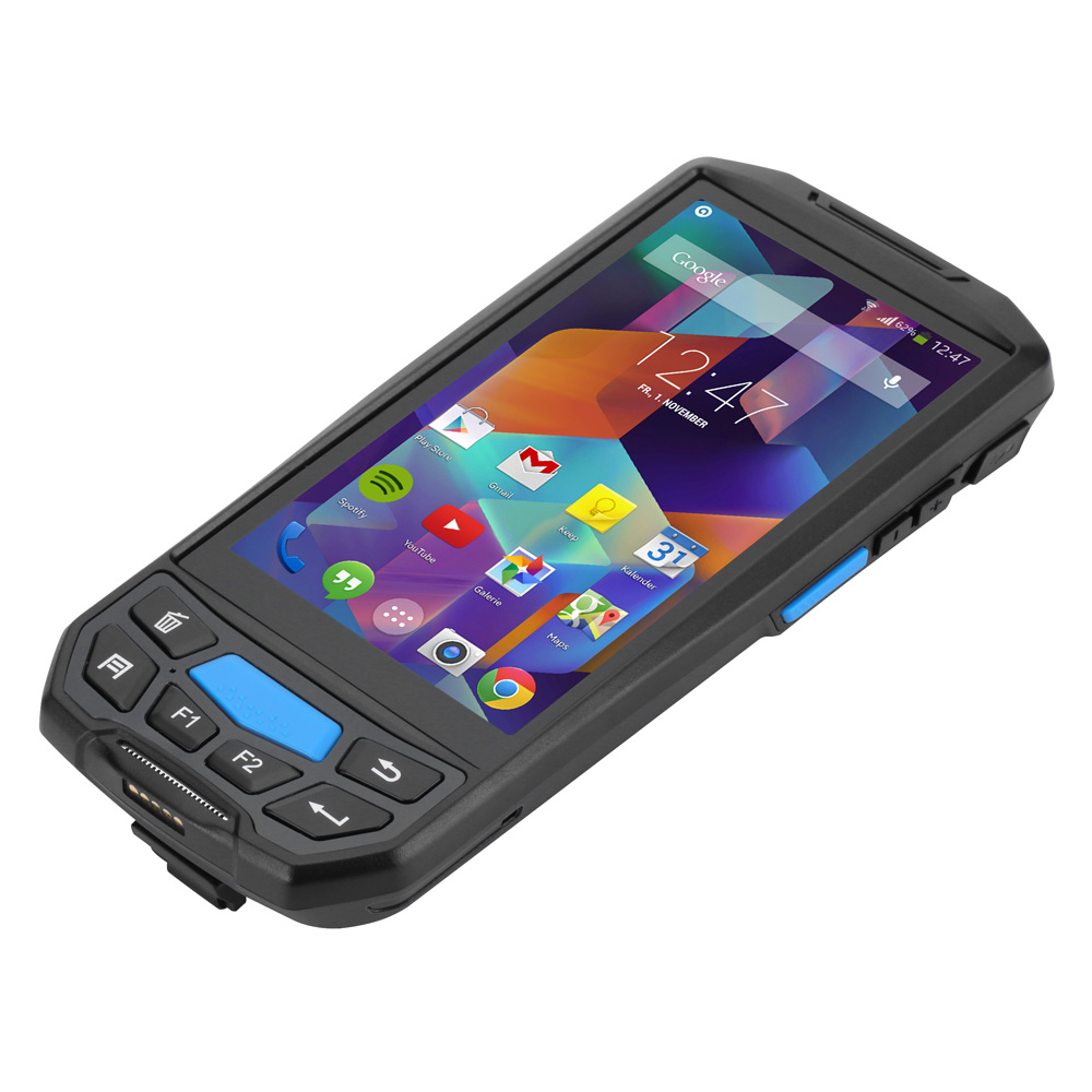 [Hot Item] Rugged Android Handheld Terminal 1d 2D Qr Code Laser PDA Barcode  Scanner Library Book Stock Inventory