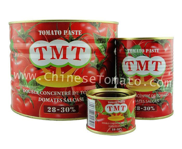 Tmt Brand Tomato Paste with Canned Packing