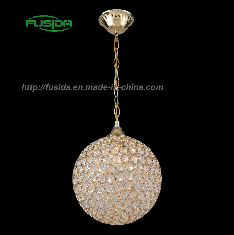 China Crystal Ball Pendant Lamp Chandeliers Light For Home Lamps Lights