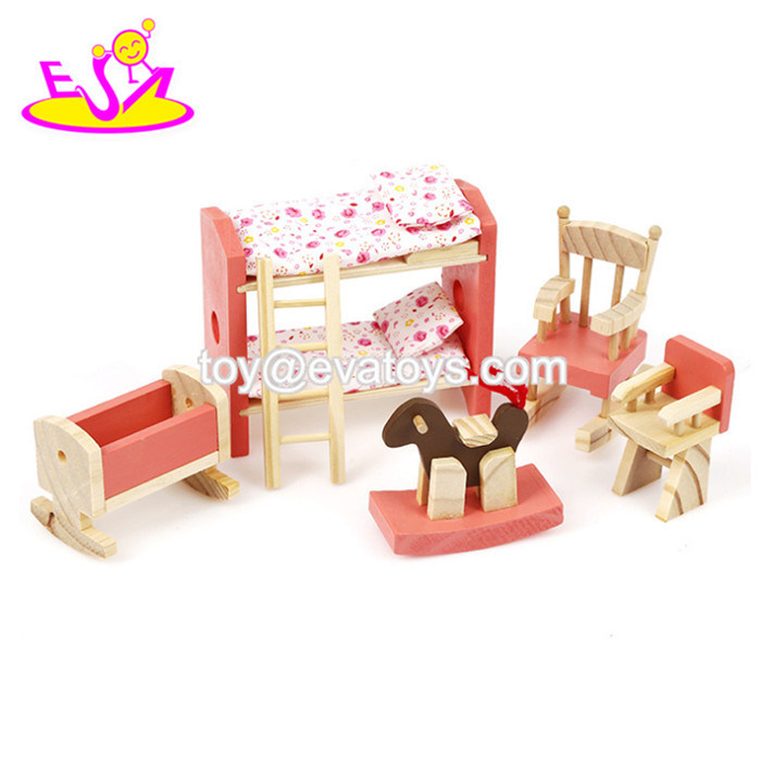 China New Hottest Girls Dollhouse Wooden Miniature Dollhouse