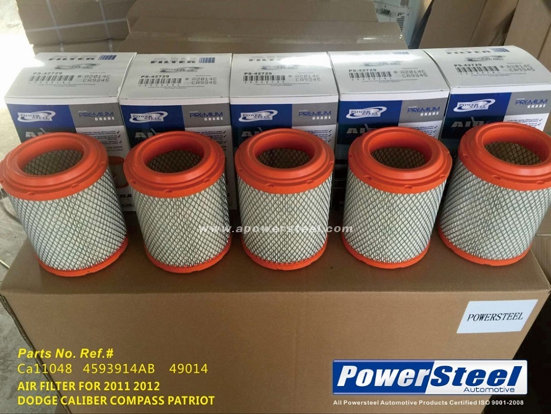 China Ca11048 4593914ab 49014 Powersteel Air Filter Jeep Compass 2011 Patriot Fuel 2016jeep 2016 Cabin Auto Filters