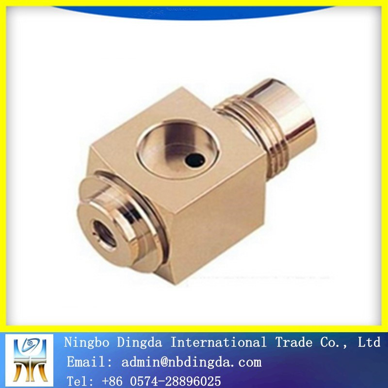 CNC Machining Brass Machined Parts pictures & photos