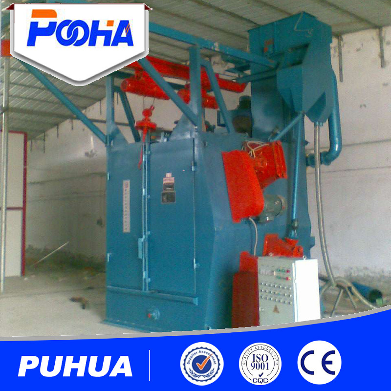 Hook Type Wheel / (Q37) Hook Type Shot Blasting Machine Used Sandblasting Equipment for Sale pictures & photos