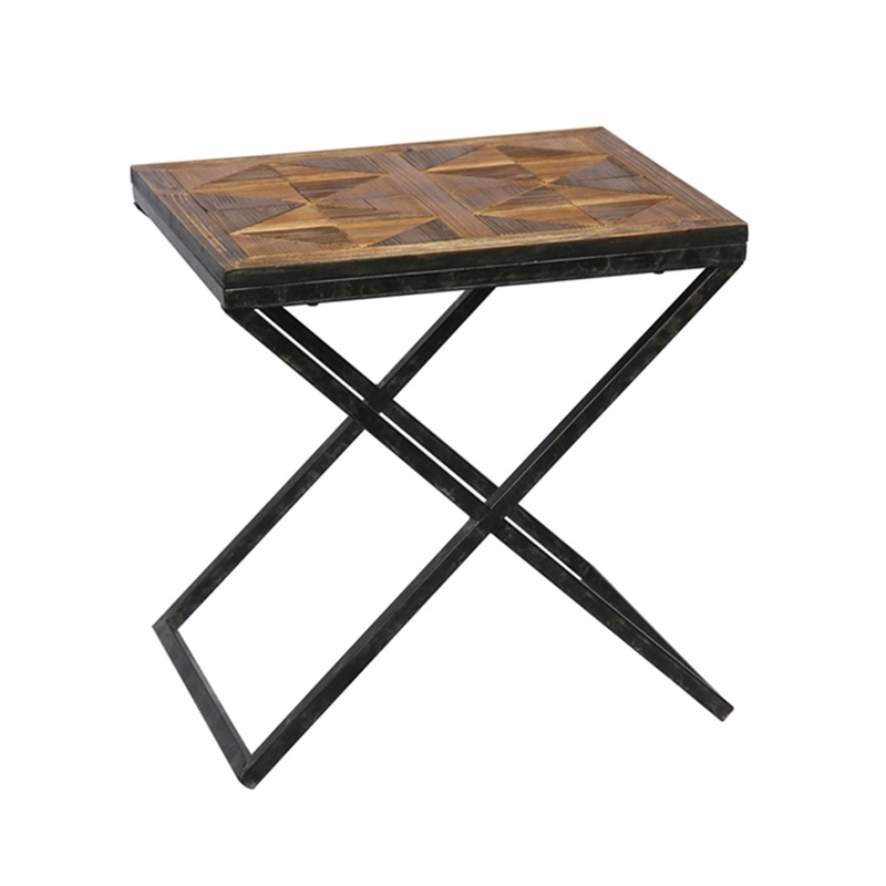 Hot Item American Display Wood Small Square Coffee Table