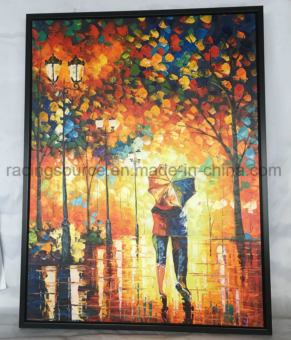 China Wall Art Framed Oil Painting Room Decor Stretched Canvas Art ...