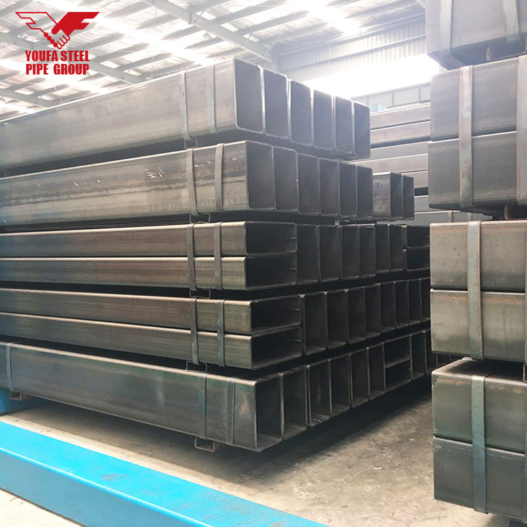 China Rectangular Steel Tube Welded Steel Pipe Ms Square Tube Weight