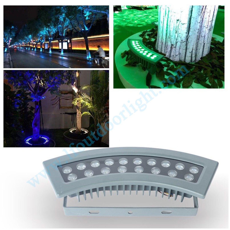 China Led Ring Shaped Tree Lights Pole Lights Outdoor Waterproof Tree Lights Tree Lights 18w36w Colorful Rgb Spot Tree Lights China Tree Holding Lamp Pole Holding Lamp