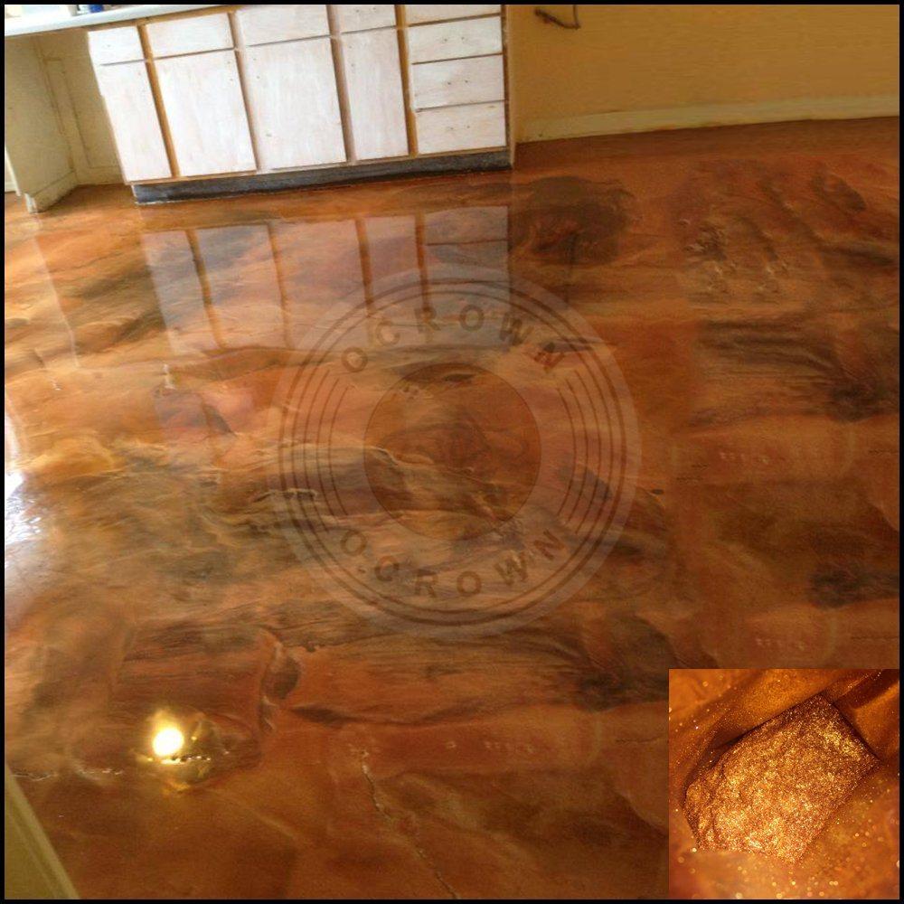 China Metallic 3d Epoxy Resin Art Floor Paint Pigment