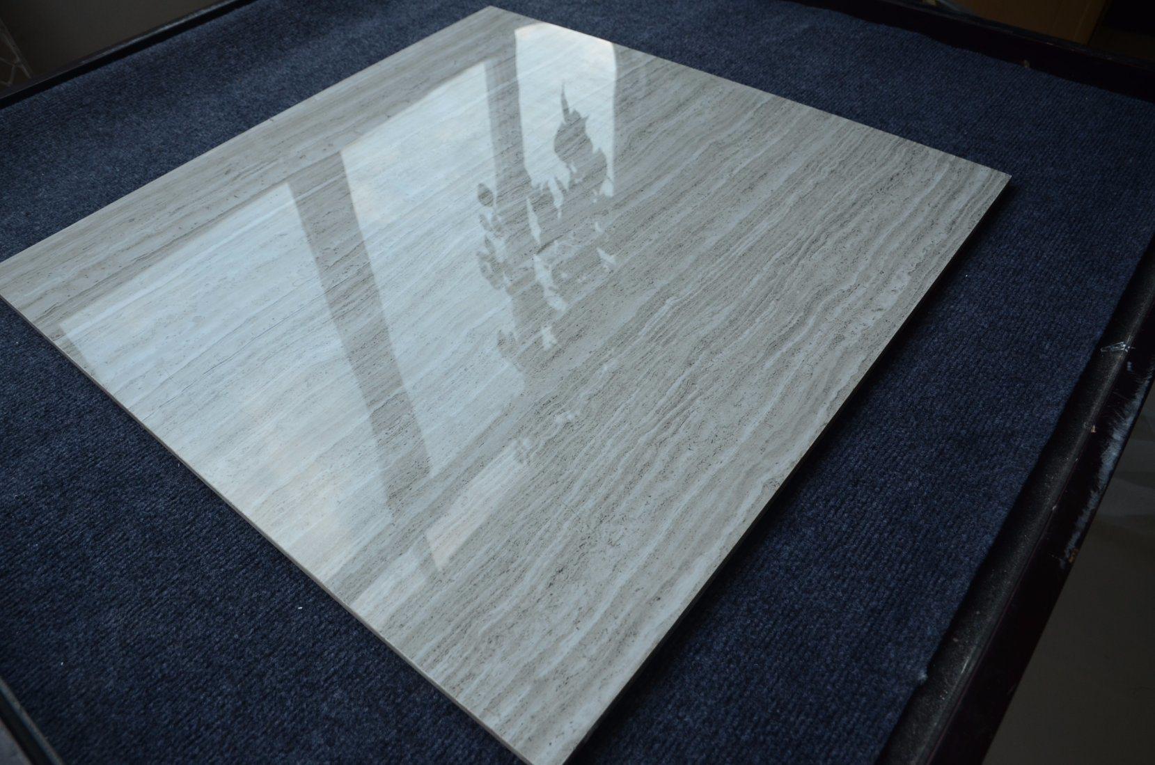 China Wholesale Imitation Travertine Gray Bathroom Ceramic Floor ...