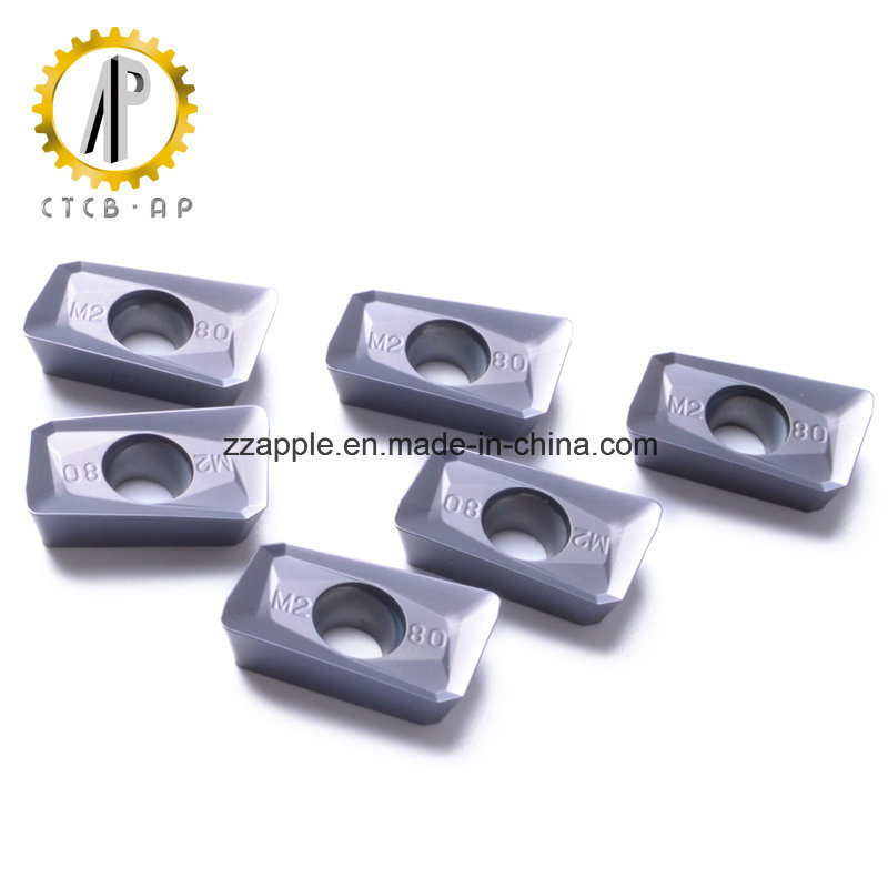 Hard Alloy CNC Milling Insert with Different Types pictures & photos