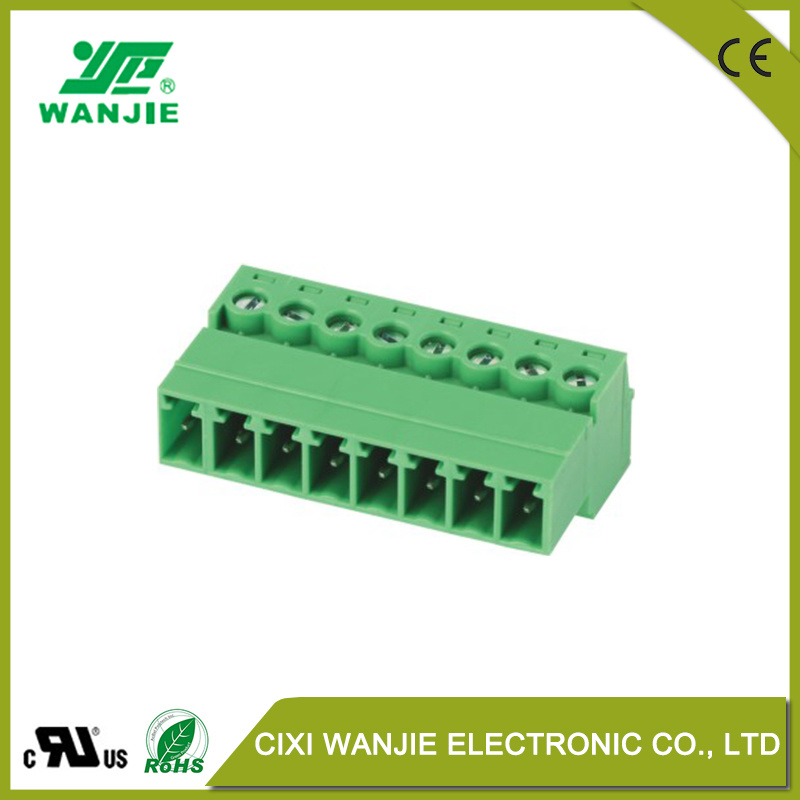 China High Temp. Pluggable Terminal Block Electrical Wire Connector ...