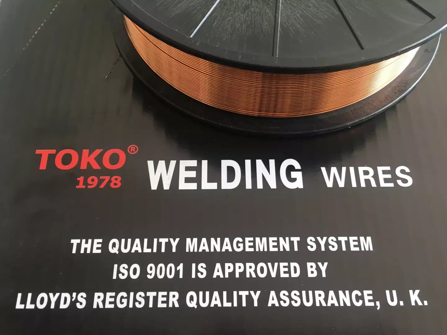 China Toko Brand Copper Coated Welding Wire Er70s-6 - China 0.035 ...