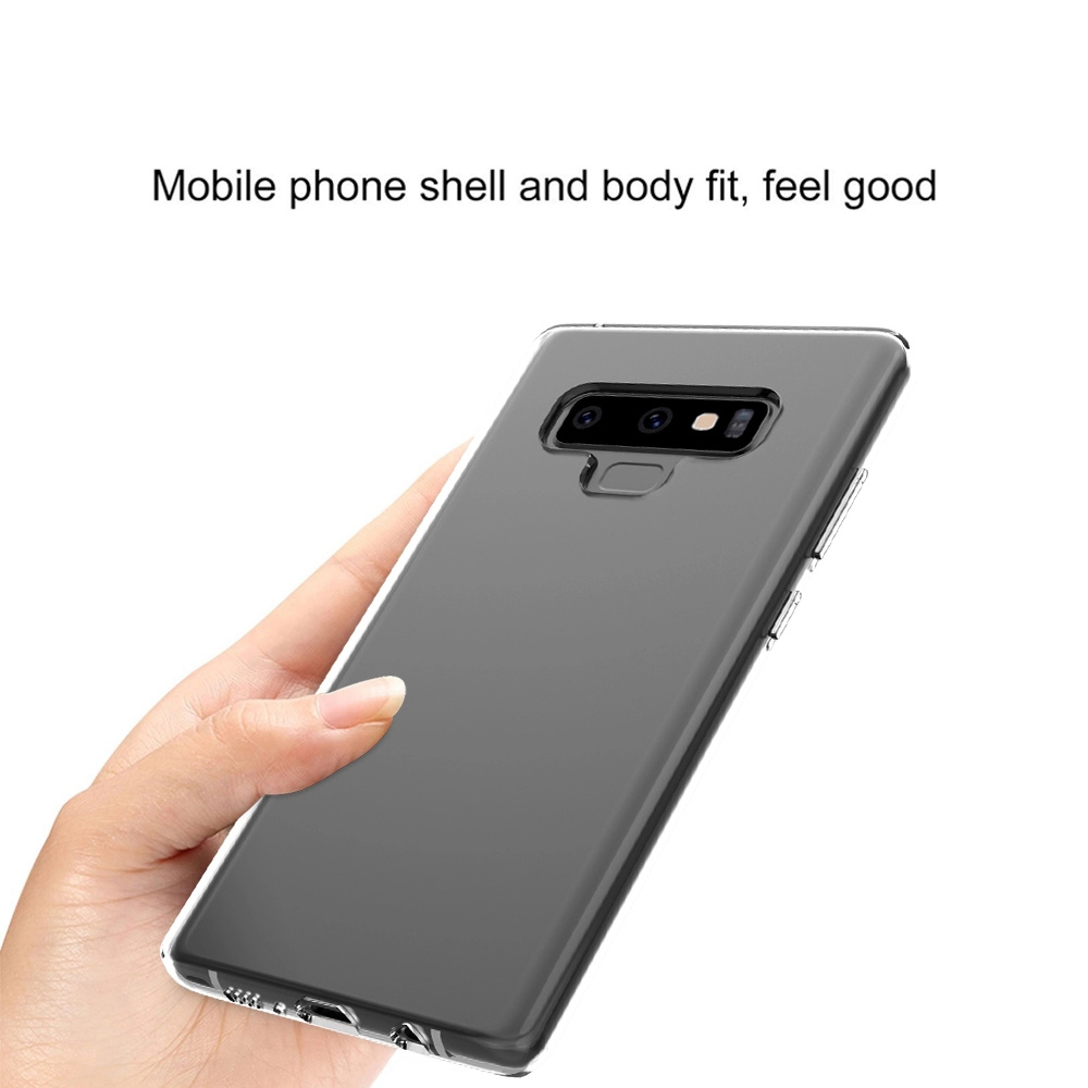 finest selection 10865 bcc3c [Hot Item] Amazon Best Selling Transparent Skin Case for Samsung Note 9  Clear Basic TPU Cover
