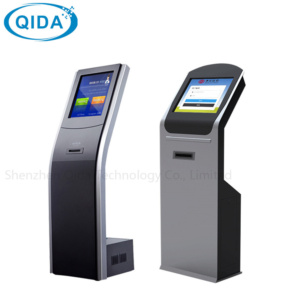 China Self Service Cash Accepting Card Reader Payment Atm Kiosk Flashdisk Vending Machine Touch Screen