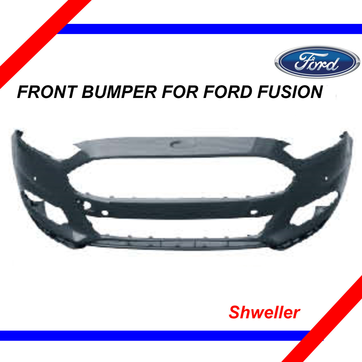 China Front Bumper for Ford Fusion 2013 China Front Bumper Auto