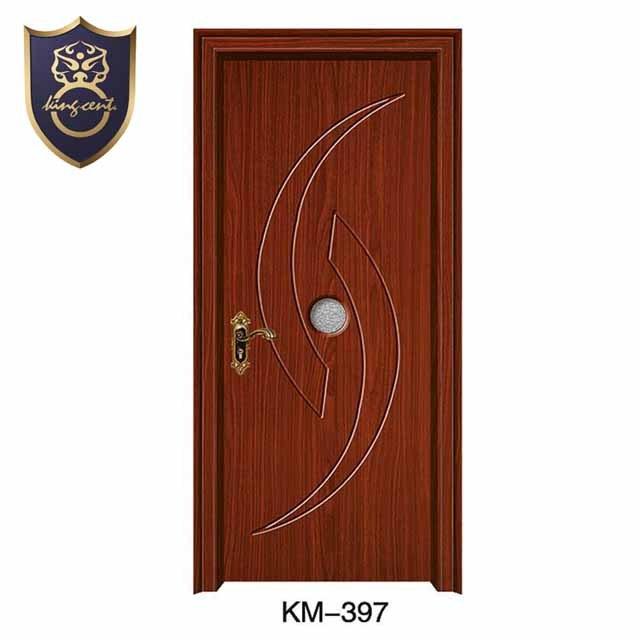 Wooden Hdf Mdf Pvc Toilet Bathroom Door