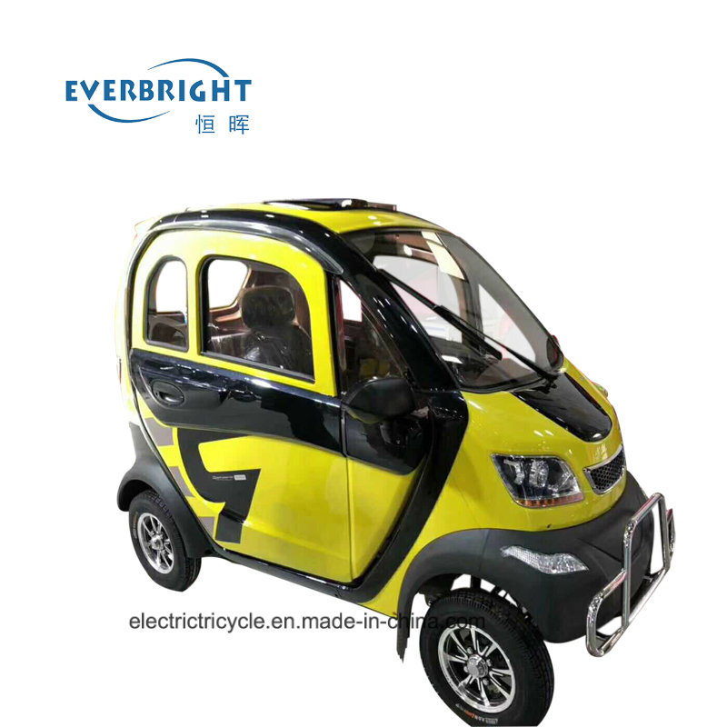 Cheap Chinese Adult 4 Wheeler Electric Mini Smart Car pictures & photos